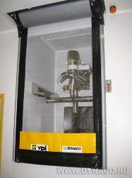Автоматические ворота из ПВХ
